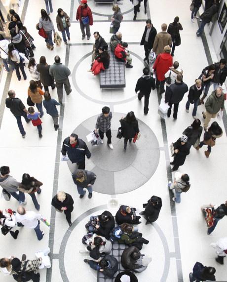 tráfico peatonal, salida, centros comerciales, logístico, moda, fashion, retail, comercio, distribución, deloitte