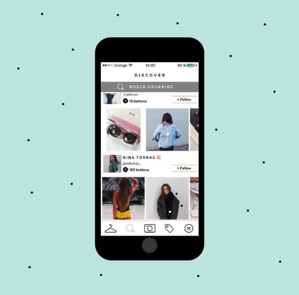 21 buttons, app, red social, instagram, Facebook, youtube, twitter, prescription, moda, fashion, compartir, ganar