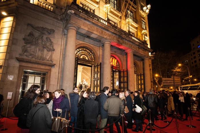 H&M, flagship store, nueva tienda, inauguración, paseo de gracia, moda, barcelona, fiesta
