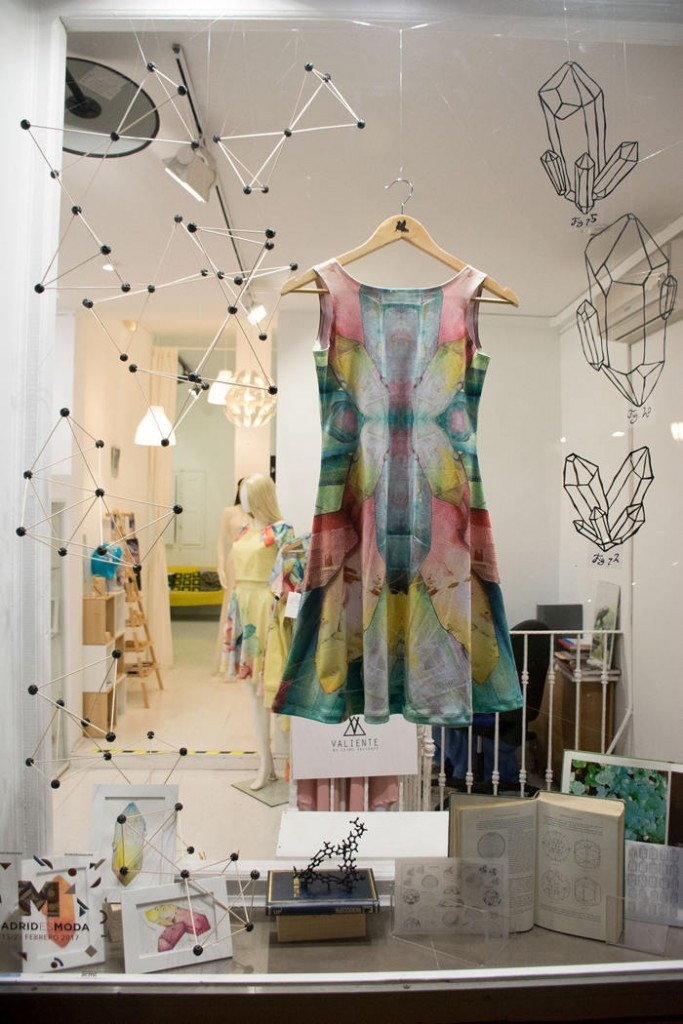 escaparate, madrid es moda, leyre valiente, escaparatismo, visual merchandising