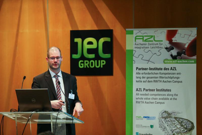 JEC, Grup JEC, Villepinte, París, AZL, Aachen, Aquisgrán, Universidad de Aquisgrán, materiales composite, composites, salones profesionales tecnológicos