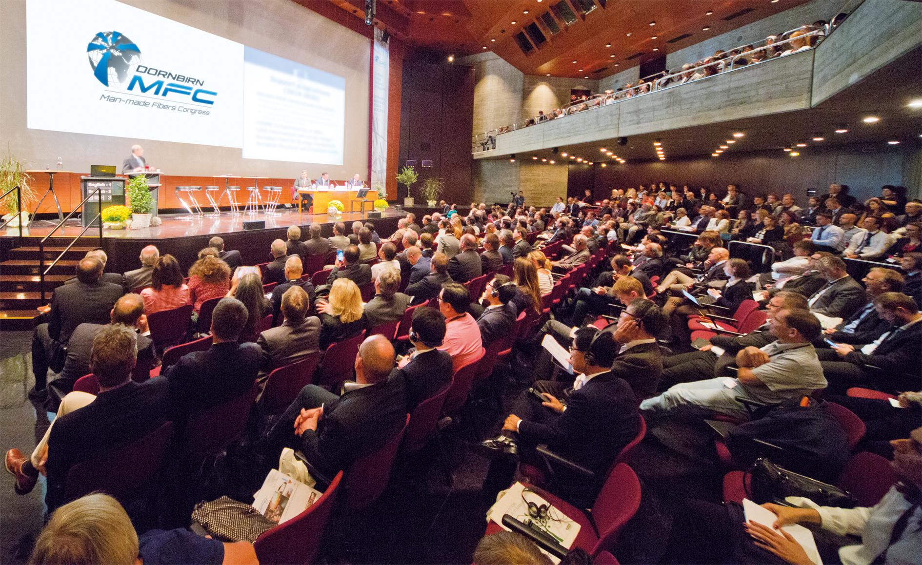 MFC, Man-Made Fibers Congress, Edana, Feria de Frankfurt, Dornbirn, congreso sobre fibras artificiales, textiles de uso sanitario, textiles de uso protectivo, textiles de uso deportivo, Avantex, Techtextiol, Wolford