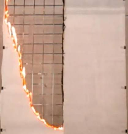 Landex Coat Flame Retardant Clear, Dainichi Giken, Daimaru Kogyo, Teijin, retardantes de la llama