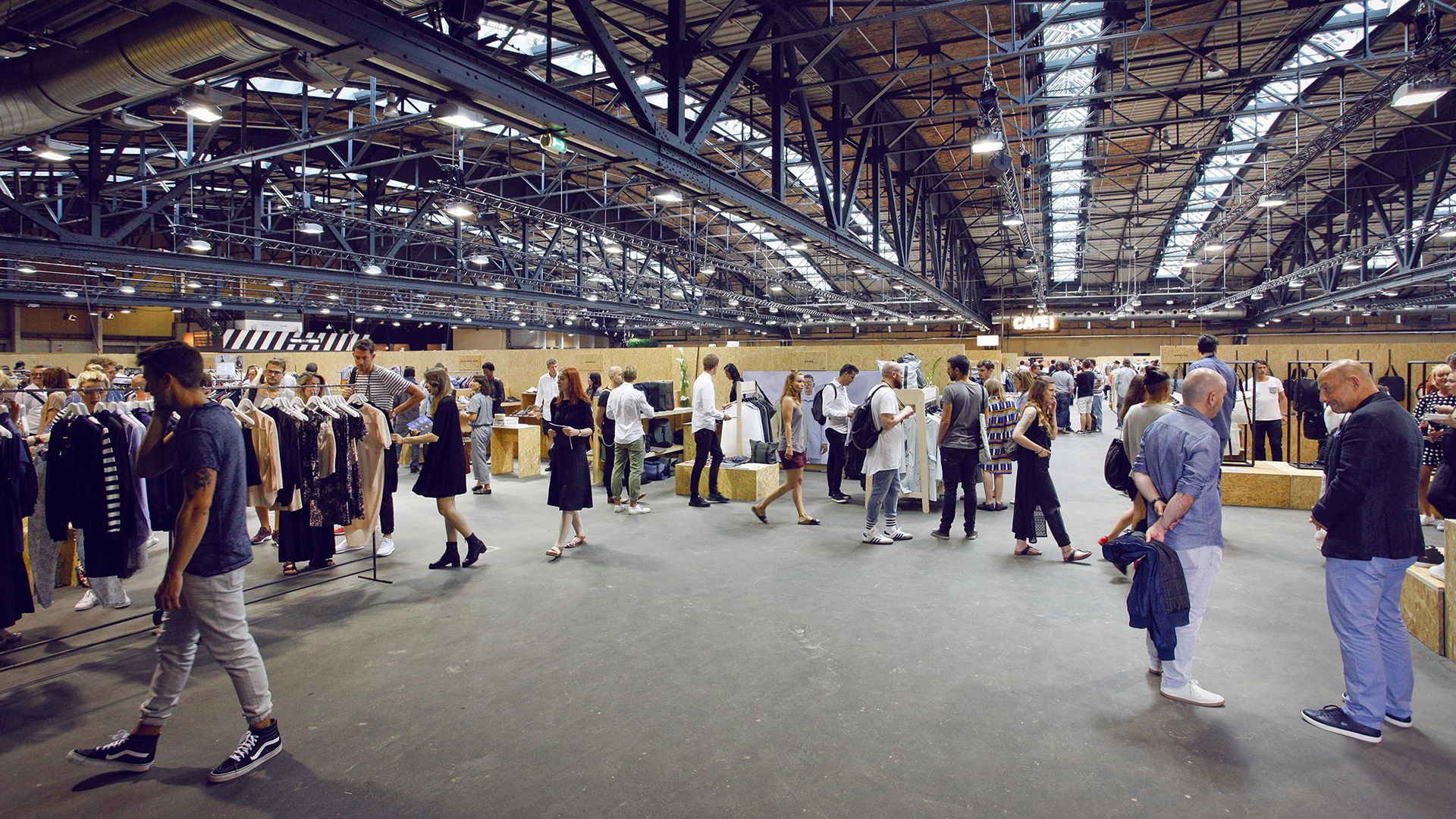 Seek, feria de moda, sneakers, fashion fair, berlin, UFI, Barómetro de ferias, negocio de ferias, Kai Hattendorf