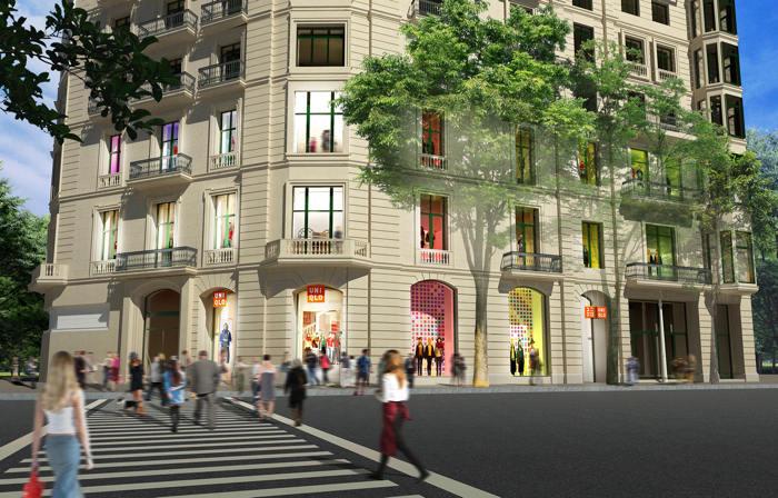 Uniqlo, fast retailling, fast fashion, moda, paseo de gracia, retail, flagship store, tienda, barcelona