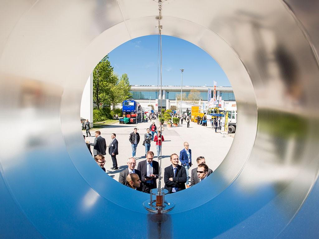 Transport Logistic, Feria de Munich, salones de logística, logística digitalizada, Stefan Rummel, Alexander Dobrindt