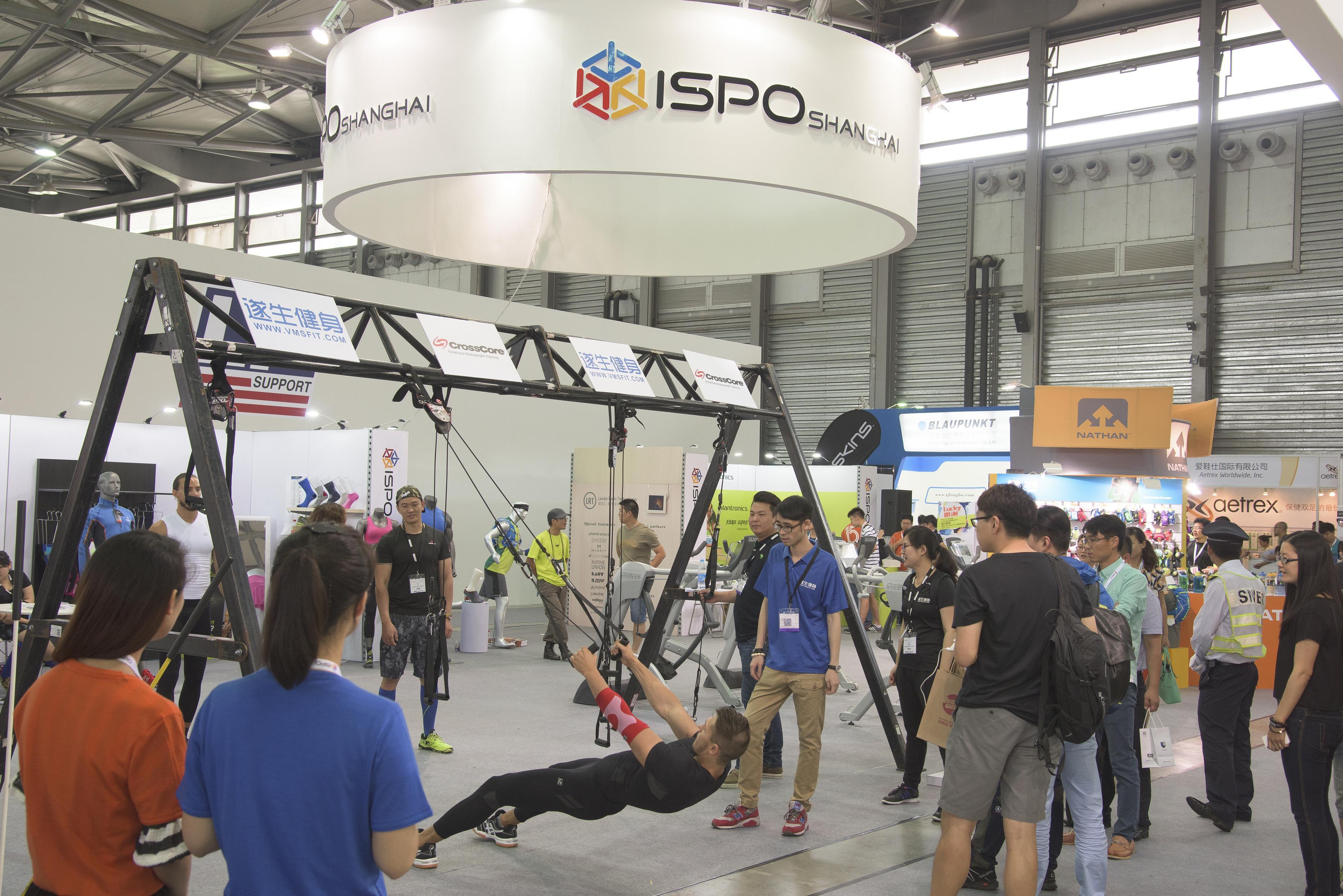 ISPO, ISPO Shanghai, ISPO Beijing, salones de material deportivo, deporte en China