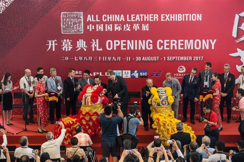 All China Leather Exhibition, ACLE, Congreso Mundial de la Piel, Inpelsa,