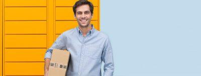 Amazon Lockers, logística, distribución, Amazon, punto de recogida, entrega de pedidos