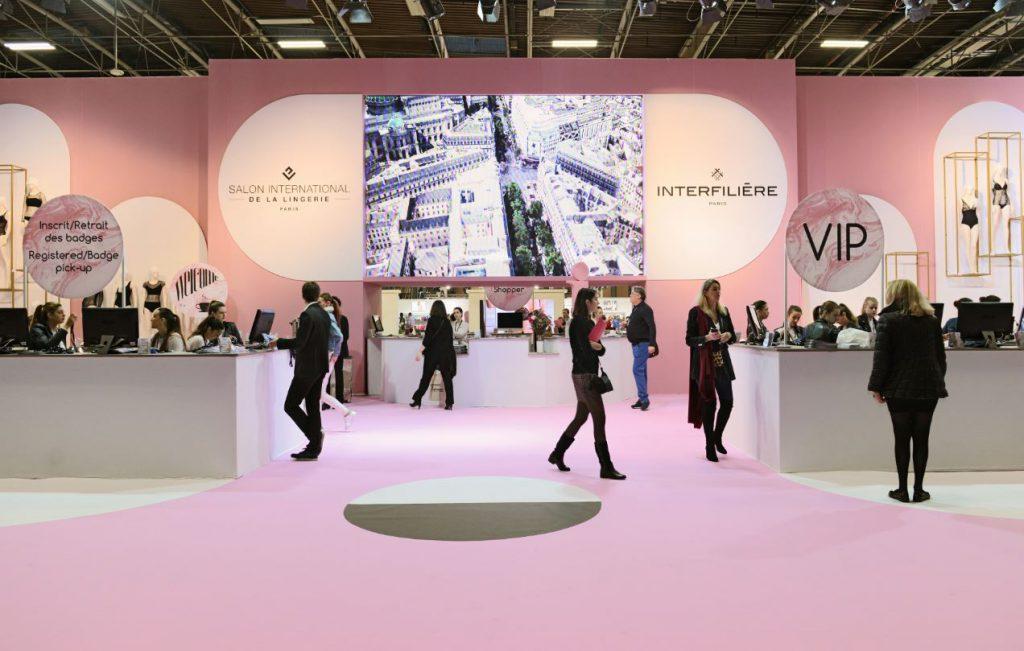 Interfilière, Eastman, Naia, Eurovet, Ritex, The Lingerie Place, CAD Modelling, Ensait, Salón de la Lencería, salones de moda íntima y balneario