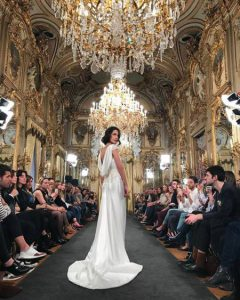 Atelier Couture, costura española, alta costura española, Palacio de Fernán Núñez, desfiles de moda, moda nupcial, moda de ceremonia