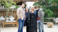 Adlib Moda Ibiza, primera película sostenible europea, El Secreto de Ibosim, Ángela Molina, Micky Molina, Marta Díaz, Miguel Ángel Tobías,