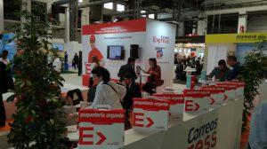 paquetería urgente B2C, logística, Alberto Marcos Garrido, Edin Barrios López, eShow Barcelona, Correos Express, entrega flexible,