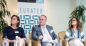 Euratex, textil/confección en Europa, Asamblea General de Euratex, John Scrimshaw, WTiN, Klaus Huneke