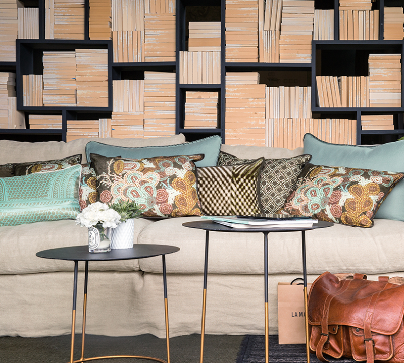 Mood, Indigo Brussels, tendencias decoración 2019, Niek de Prest
