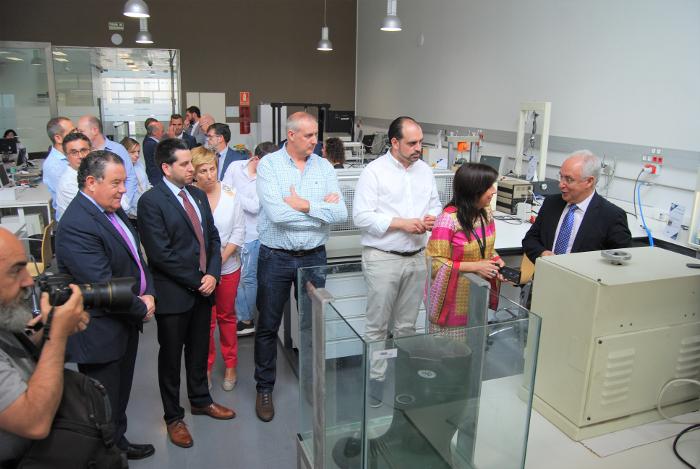 José Ignacio Ceniceros, Equipos de Protección Individual , EPI, CTCR, ENAC, Centro Tecnológico del Calzado de La Rioja