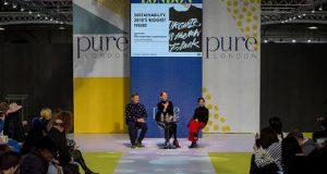 Pure London, moda sostenible, Olympia Hall, Fundación Ellen MacArthur, Ethical Fashion Forum, Fashion Revolution, circularidad de la moda