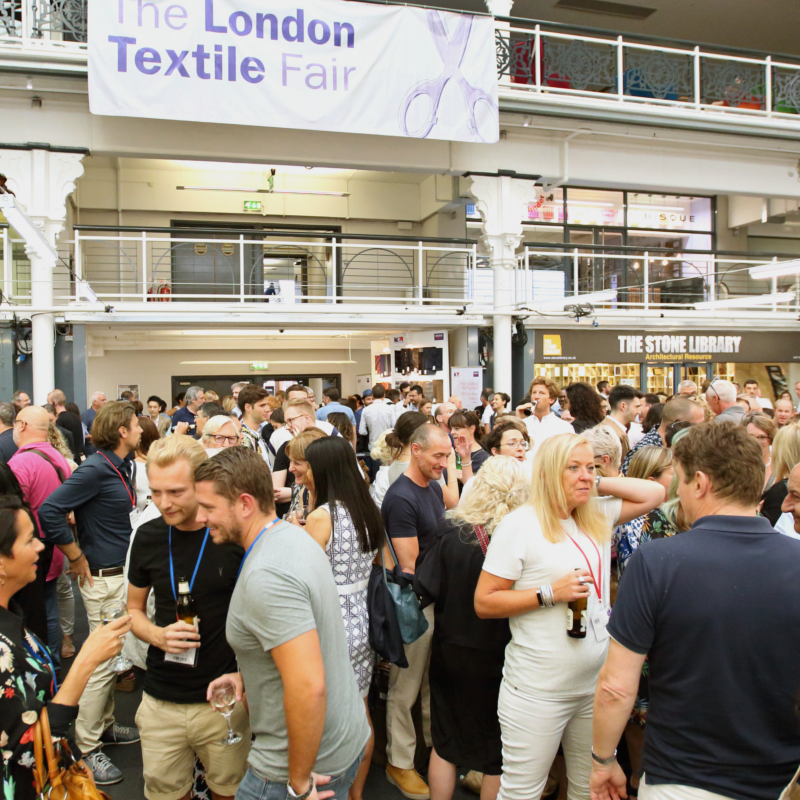 The London Textile Fair, Islington Design Center, The Future Fabrics Expo, Sustainable Angle, Texfusion, The London Print Design Fair, salones textiles, sector textil en Gran Bretaña