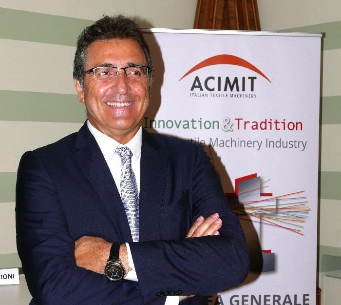 Acimit, maquinaria textil italiana, Alessandro Zucchi, ITMA