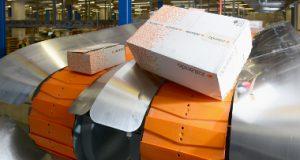 centro logístico, Zalando, Denipro , transportadores deniway, logística, intralogística, eliminar cajas