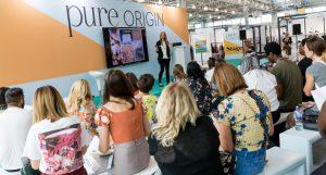 Pure Origin, Pure London, Gen Z, Bubble, Julie Driscoll, salones de moda, salones de textiles, Italia, The Institute for Creative Leather Technologies, GOTS
