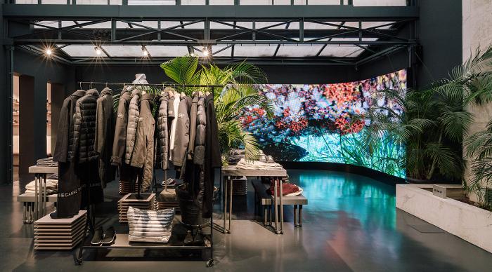 digitalización de espacios físicos, grupo Trison, Ecoalf, moda sostenible, Trison, flagship store,