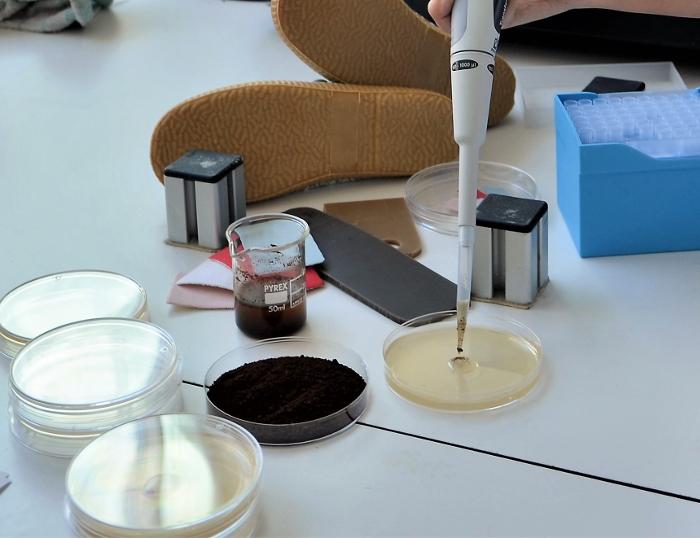 Coffee Grounds Shoes, CTCR, posos de café, Centro Tecnológico del Calzado de La Rioja, suelas de zapato,