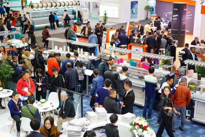 ShanghaiTex, SNIEC, salones de tecnología textil/confección