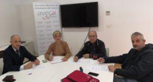 UGT y CCOO, Asociación Valenciana de Empresarios del Calzado , Asociación Española de Componentes del Calzado, patronales del calzado valenciano, calzado,