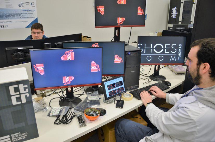 realidad aumentada, holograma, calzado, zapatos, realidad virtual, fabricación aditiva, 3D, Centro Tecnológico del Calzado de La Rioja, El CTCR, CTCR, Industria 4.0, ShoesRoom by Momad