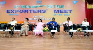 Tirupur, salones de punto, India International Knit Fair, IKF, AEPC