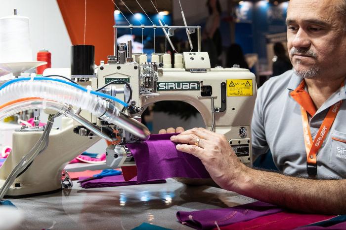Texprocess, Techtextil, Creative Holland, salones de textiles técnicos, salones de tecnología confeccionista, VDMA, Shima Seiki, Lenzing, Dürkopp Adler
