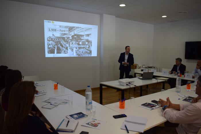 estructuras empresariale, calzado, Avecal,  Grupo Innova, lean manufacturing,