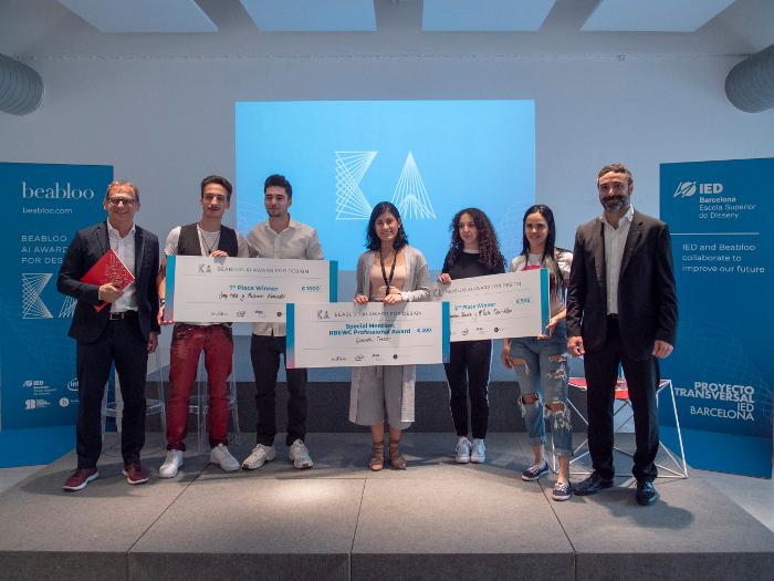 vídeo analítica, Inteligencia Artificial , Beabloo AI Award for Design, Beabloo, IED Barcelona,