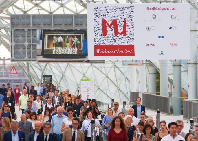 Milano Unica, e-MilanoUnica Connect, salones de tejidos, plataformas online, Pitti Immagine