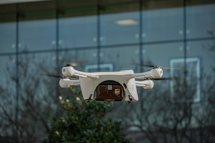 UPS Flight Forward, dron, entrega con dron, entregas con drones, UPS , Administración Federal de Aviación,