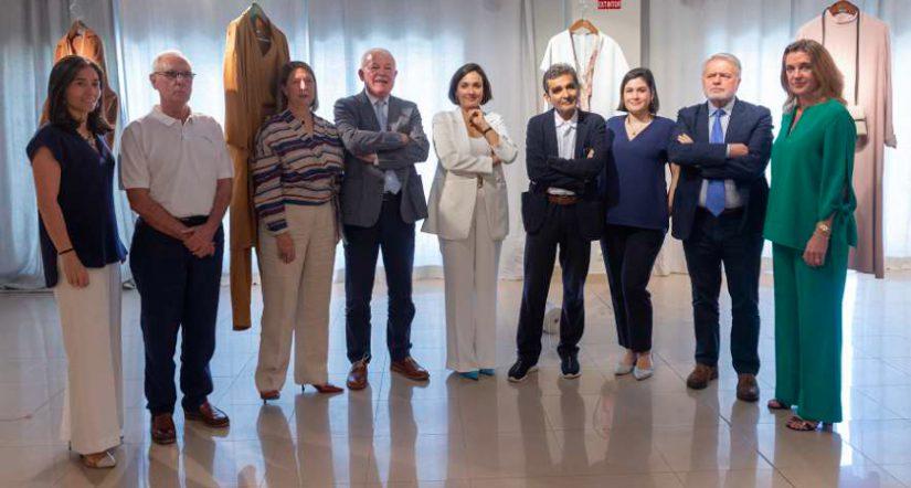 Adolfo Domínguez, José Lorenzo, Vicente Asensi, Tatiana Suárez, Adriana Domínguez,