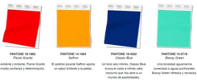 Semana de la moda de NY, pantone, tendencias cromáticas, Pantone Color Institute, PV 2020,