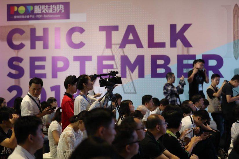 Chic, salones de moda, mercado chino de la moda