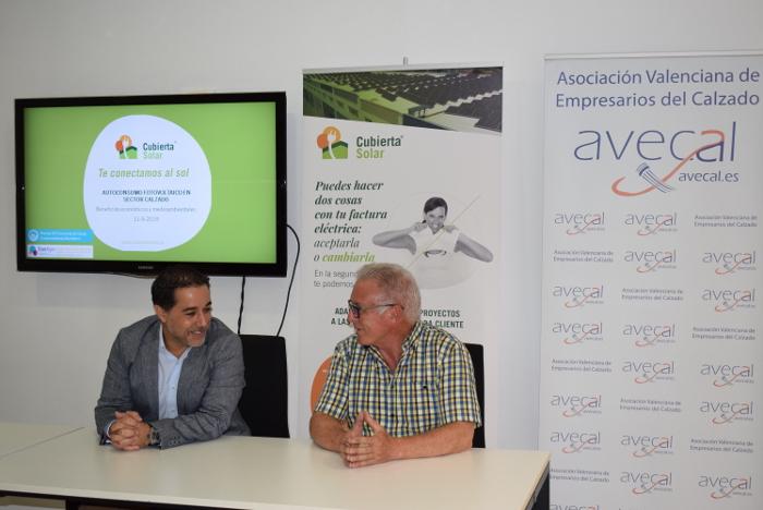 energía fotovoltaica, calzado, autoconsumo fotovoltaico, Asociación Valenciana de Empresas del Calzado, AVECAL Cubierta Solar. AVECAL , Cubierta Solar .
