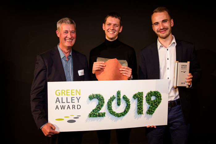 Jan Patrick Schulz,Gelatex Technologies, Gelatex,, cuero, cuero de gelatina, Green Alley Award 2019,