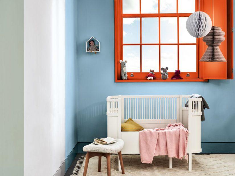 pinturas decorativas, AkzoNobel, Bruguer , Amanecer Tranquilo, color del año 2020,