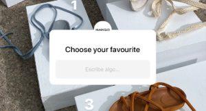 decisiones creativas, Instagram, Mango, Your choices make us, Look. Participate. Decide,