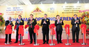 SaigonTex, Vietnam, salones de maquinaria para textil/confección, Vinatex, Vitas, guerra comercial China/USA