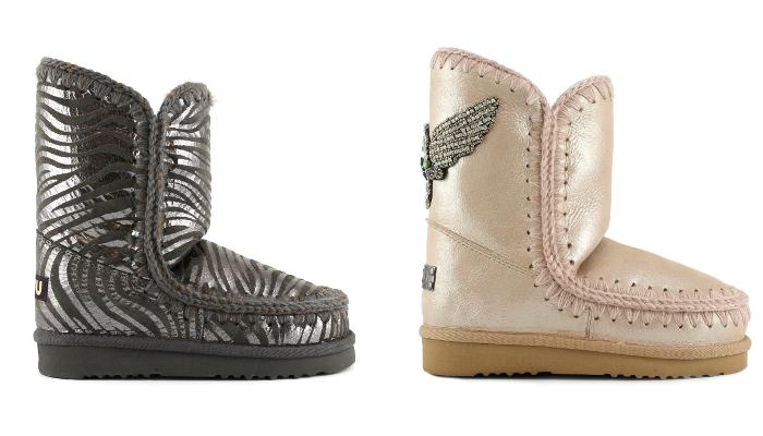 Mou Boots, Mou, botas de invierno, botas brillantes, calzado navidad, zapatos brillantes,descansos,
