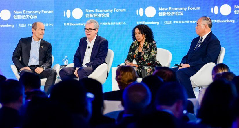 ecoeficiente, New Economy Forum , sostenibilidad, join life, inditex, presidente de Inditex, Pablo Isla,