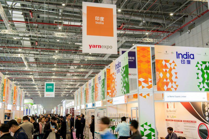 Yarn Expo, Bielorrusia, salones de hilados, Feria de Frankfurt