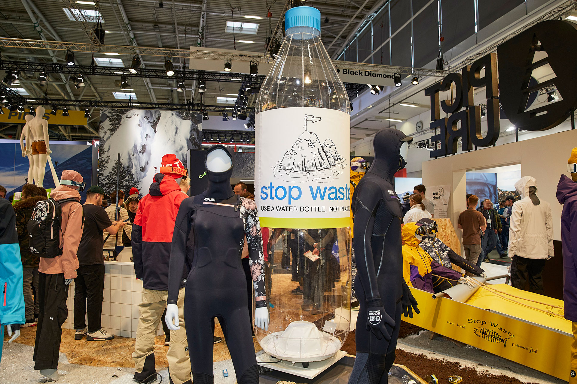 ISPO, Feria de Munich, Afydad, sostenibilidad textil, salones de artículos deportivos, Outdoor by ISPO, ISPO SGD Summit
