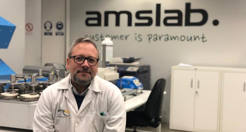 Manuel Lolo, CEO de AMSlab