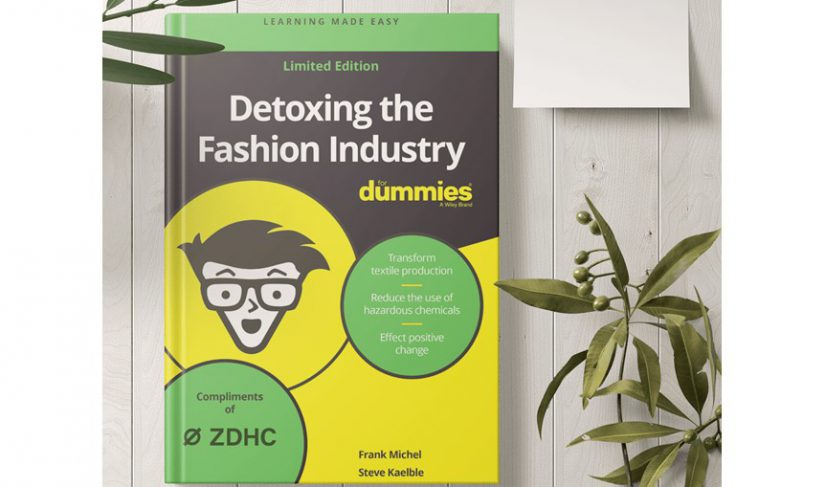 ZDHC, desintoxicar la moda, químicos en textil, Detroxing the Fashion Industry for Dummies, Frank Michel